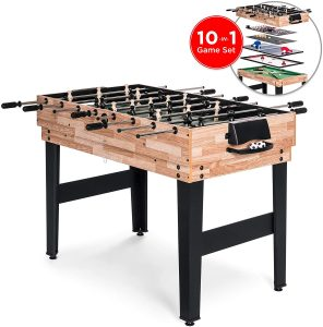 10-in-1 Game Table By Best Choice Product
