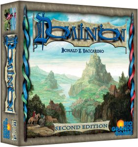 The 2nd Edition Of Dominion Strategy Board Game