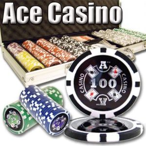 Ace Casino Poker Set