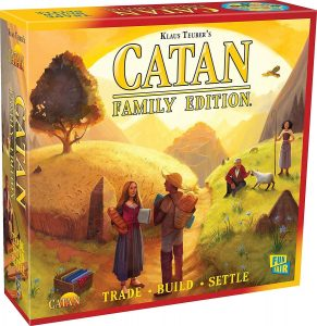 Adult And Family Board Game The Catan
