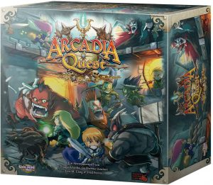 Arcadia Quest – Core Board Game by CMON