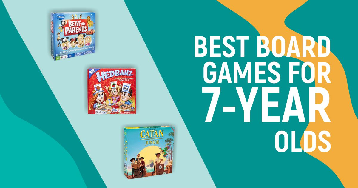 Best Board Games for 7-Year Olds