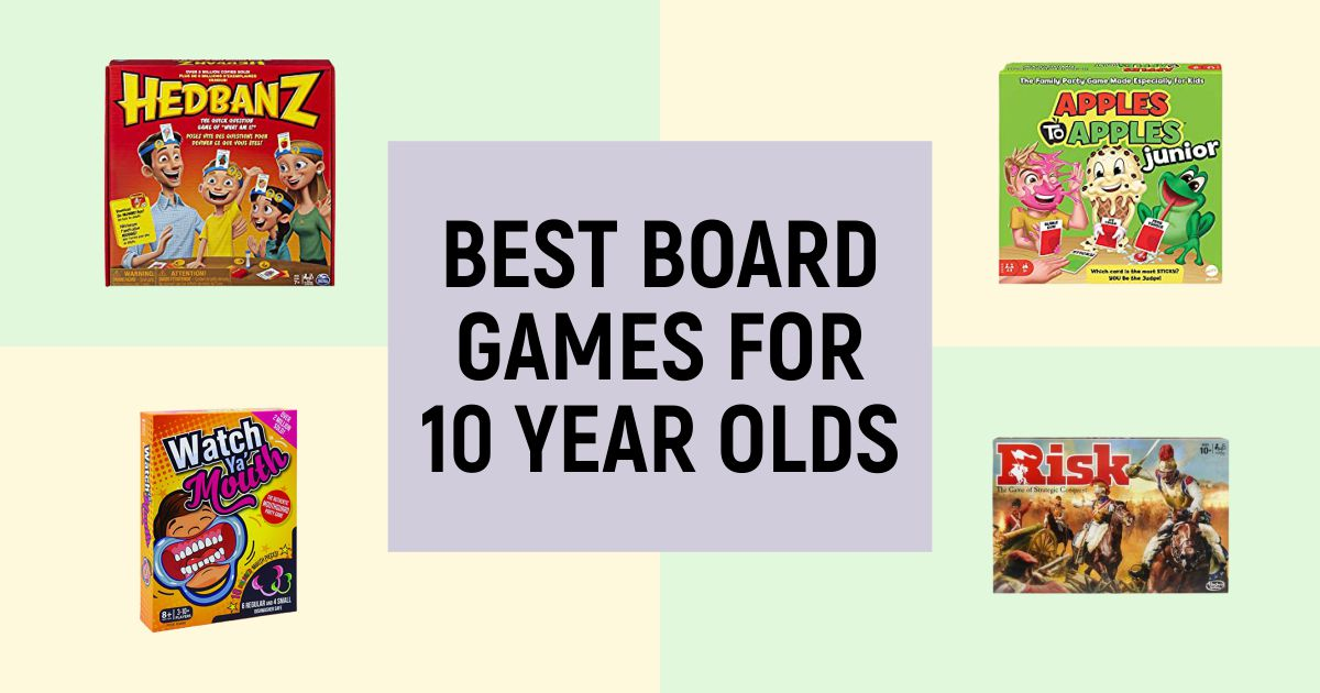 Best Board Games For 10-Year Olds