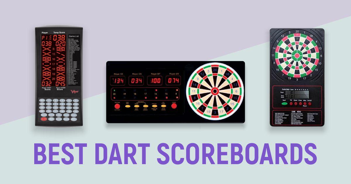 Best Dart Scoreboards