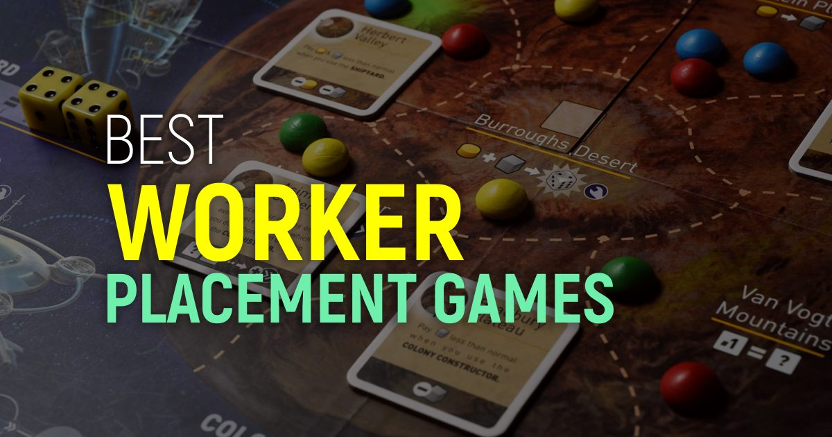 Best Worker Placement Games To Try This Year