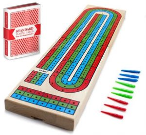 Classic 3 Track Cribbage Board by Brybelly