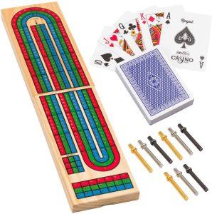 Cribbage Board Standard Deck Game by Regal