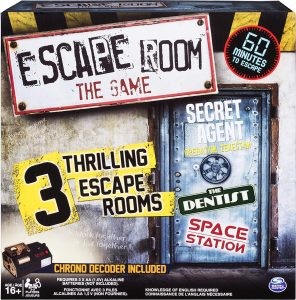 3 Thrilling Escape Rooms Game by Spin Master