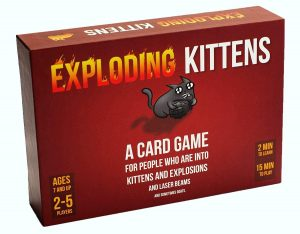 Party Game in Exploding Kittens Card Game