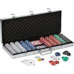 Fat Cat Texas Hold'em Claytec Poker Chip Set