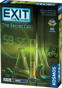 The Game Exit in Secret Lab By Thames & Kosmos