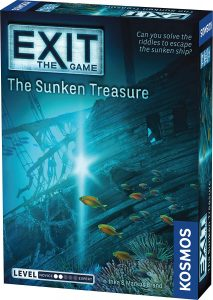The Game Exit in Sunken Treasure by Thames & Kosmos