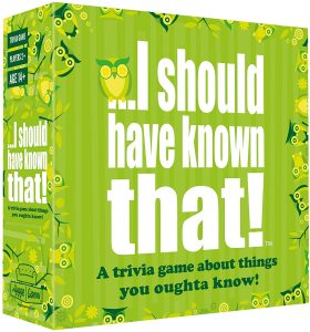 Hygge Games Presents I Should Have Known That!