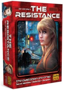 Indie Boards And Cards Presents The Resistance