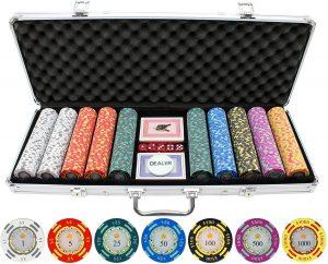 JPC Crown Casino Clay Poker Chips