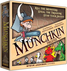 Kill The Monsters In Munchkin Deluxe
