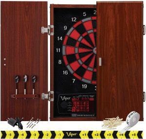 Neptune Electronic Dartboard Cabinet