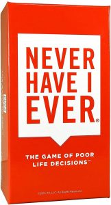 Never Have I Ever Party Card Game