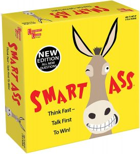 New Edition Of Smart Ass Trivia Board Game