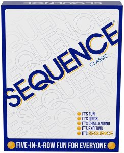 Original Sequence Card Game by Jax