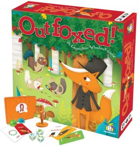 Outfoxed Multi-Colored Kids Board Game