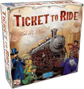 Play With Rexa Board Game Ticket To Ride