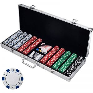 Poker Chip Set For Texas Holdem Poker Chip Set
