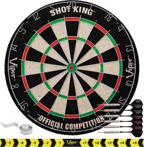 Shot King Dartboard Set By GLD Products