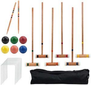 Six-Player Deluxe Croquet Set