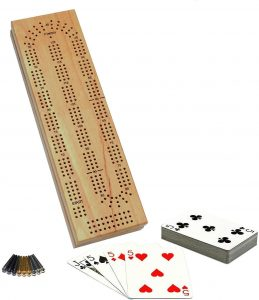 Solid Wood Cabinet Cribbage by WE Games