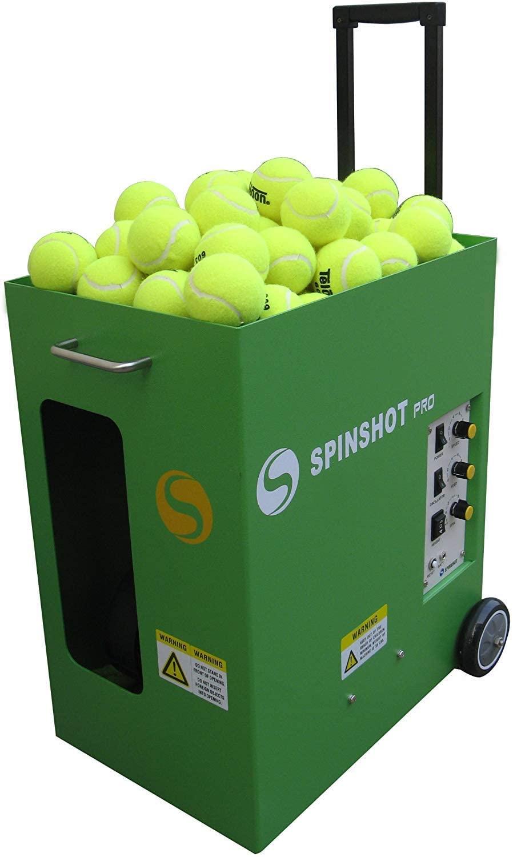 Spinshot Pro Tennis Ball Machine