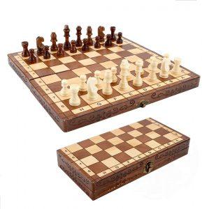 Syrace Wooden Chess Set