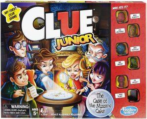The Classic Clue Junior Board Game