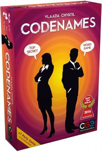 The Codenames By Czech Games