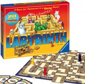 The Labyrinth Family Game