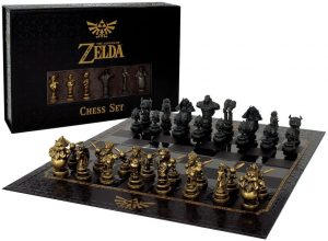 The Legend of Zelda Chess Set