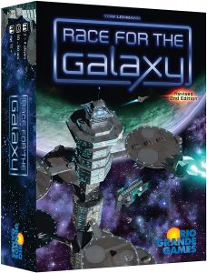 The Race for Galaxy