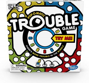 The Trouble Board Game by Hasbro