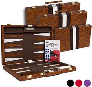 Travel Size Classic Backgammon Set