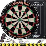 Viper League Pro Regulation Dartboard