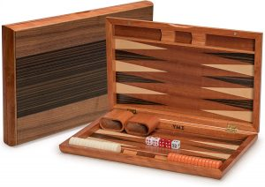 Wooden Backgammon Game By Yellow Mountain Imports