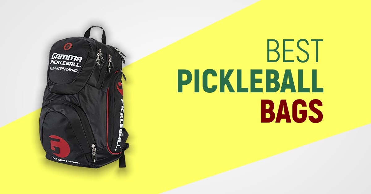 Best Pickleball Bags For Easy Carrying