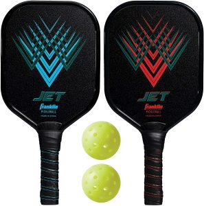 Franklin Sports Pickleball Paddle and Ball Set