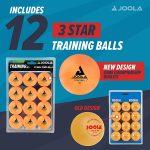 JOOLA Training 3 Star Table Tennis Balls