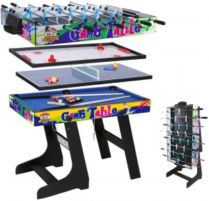 Multi-Function 4 in 1 Combo Game Table