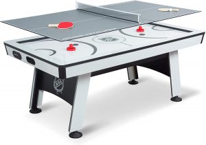 NHL Power Play Table with Table Tennis Top