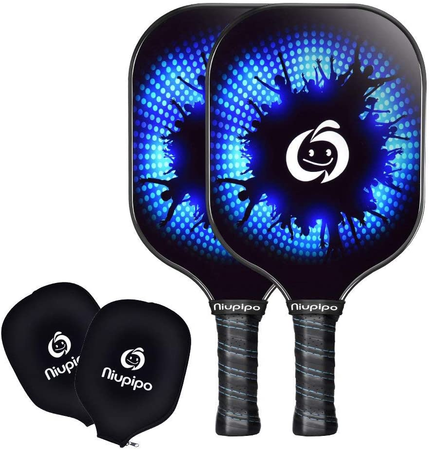 Niupipo Pickleball Paddles With Carbon Fiber Face