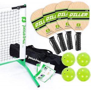 Pickle-Ball Inc. Pickleball Diller Tournament Net Set