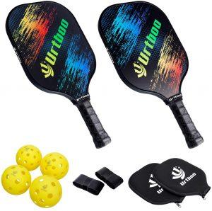 Urtboo Pickleball Paddle Rackets Set