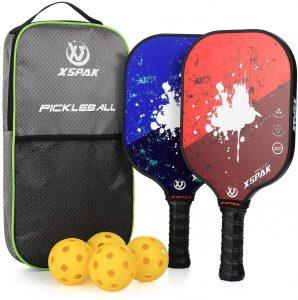 XS XSPAK Pickleball Paddles Set